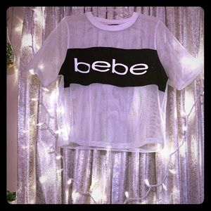 Bebe mesh top